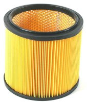 Dry filter / pleated filter / lamella filter without...